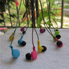 Rope braid cable earphones for boys and girls