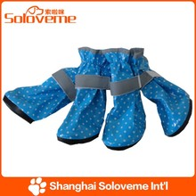 Hot Selling Pet Dog Rainshoes Fashion Dog Boots Waterproof Production