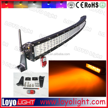 2015 288W 50inch LED amber light bar ,240W offroad led lightbar,12V LED amber driving light bar for engineering vehicle