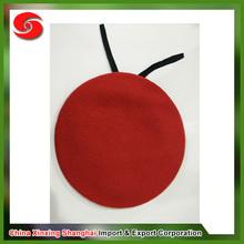 2015 nova chegando adulto venda quente de lã de alta qualidade barato red boina