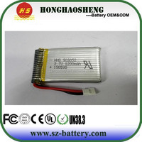 Rechargeable high drain 903052 3.7v 1200mah lipo battery Syma X5 X5C X5SW helicopter battery
