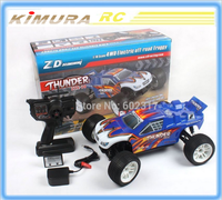 5pcs/lot New ZD Racing Thunder Brushless Electric Buggy 9104 RC 4WD 1/10 Scale Truggy Toy Car Wholesale