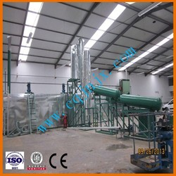 JNC waste and used motor/car/ship/truck oil renew machine to diesel/fuel oil