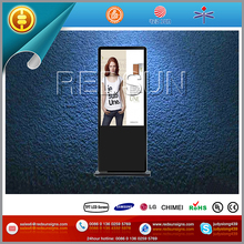 65'' hd lcd display support all kinds of file format