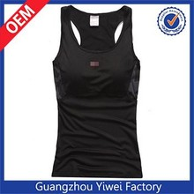 Custom cotton bulk bodybuilding gym womens stringer tank top