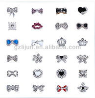 3D Nail Art Alloy Glitters Rhinestones Tips Nail Decoration Diy,3D Shiny hot Crystal Glitter Rhinestone nail decoration