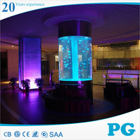 PG Plastic Farm Fish Tanks Small Round Aquarium