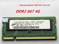 Wholesale memory---4G DDR2 667 Laptop RAM PC-5300S