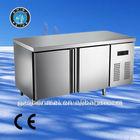 salada de aço inoxidável bar freezer geladeira comercial