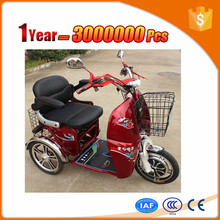 Multifunctional electric tricycle for 2 person CCC