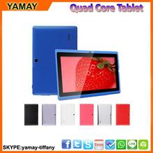 Allwinner A33 1.5GHz quad core tablet androide dual-cam 4.4 de 7 pulgadas con el bluetooth sistema operativo Android 4.4 Tablet