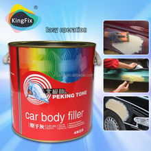competitive price yellow color hardener and putty for car repair