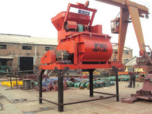 Factory direct sale JS750 concrete pumping machine and concrete mixer