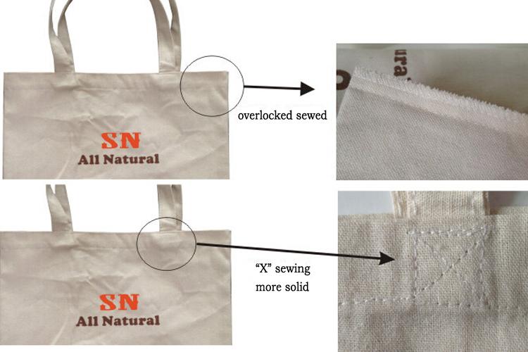 bag sewed