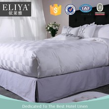 ELIYA Duvet Cover Set Type and Full Size plain white 100% cotton bed sheet