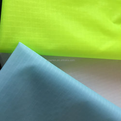 40d ripstop nylon fabric with silicone coated 40d ripstop nylon fabric