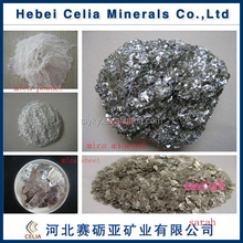 high purity white mica for rubber filler