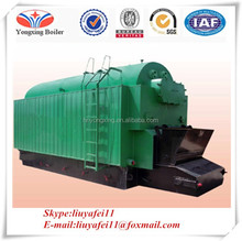 Steam boiler coal biomass fuel fired one drum chain grate coal fired steam boiler
