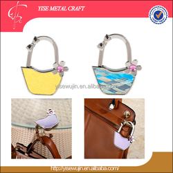 Premium Gift Vara Bow Basket Design Foldable Purse Hook