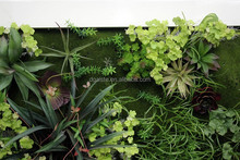 grass fake wall factory sale directly decoration (164X44cm) small excellent plant wall