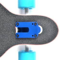 """Longboard wheels light blue Backfire 45"""" Drop Through Canadian Maple Longboard complete wholesale"""