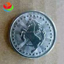 Cheap vending machine custom logo tokens from Guangzhou