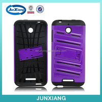 Wholesale 2 in 1 hybrid robot mobile phone case for HTC 510