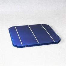 A grade 156*156mm 3 bus bar mono silicon solar cells for sale