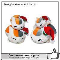 china factory wholesale lifelike cat custom plush toy