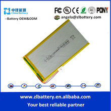 tablet 3774131 3.7v flat lithium battery with capacity 4200mAh