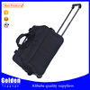 Alibaba men's business laptop bag short time traveling trolley bag strong and durable rolling duffel bag