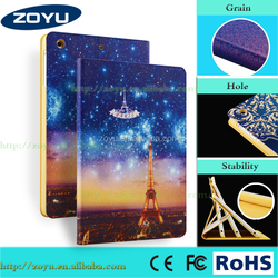 For ipad mini fancy color printing case wholesale