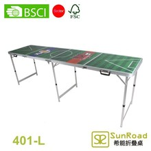 4 Sestions (2.4m 8') inflatable beer pong table
