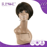 Samples Are Available Soft And Smooth Fanny Weave 100% Human Hair Wig Lace Front