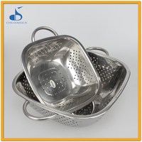 Stainless Steel Double Ring Multi-purpose Basket