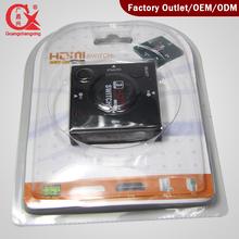 3 in 1 hdmi switcher 1080P 3D hdmi splitter
