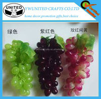 Artificial fruits fake grape bunch