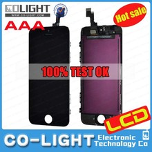 Crazy promotion mobile lcd for iphone 5s, for iphone 5s lcd screen display assembly on sale with Free DHL shipping