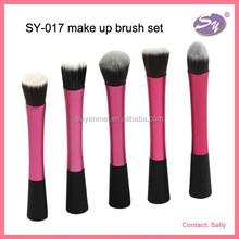 2015 new fashion make up brush set for ladies