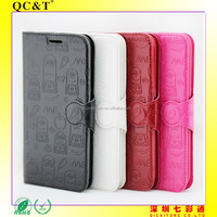 Factory Price Soft TPU + PU Leather Case for Samsung S6