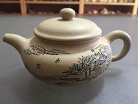 Yixing Zisha Purple Clay Teapot Pottery