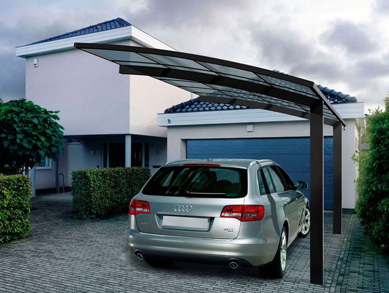 Ce certification polycarbonate driveway gate canopy for Garage dm auto livry gargan