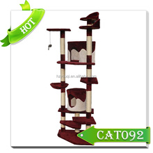 4 tiers Luxury Design Cat Tree Pet Toys Wholesale Pet Cages,Carriers & Houses