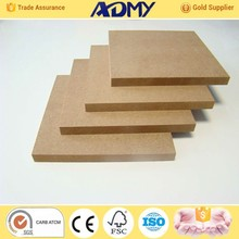 ADMY hot sell multi thickness best quality 18mm thick mdf board