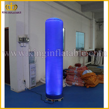 Very Cheap Remote Control Lighting LED Inflatable Cube, Inflatable Column For Party Decoration
