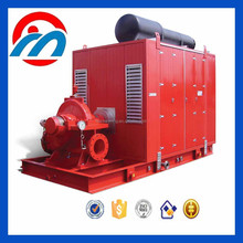 horizontal split-case diesel engine fire fighting centrifugal pump