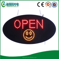 Hidly very very cheap led open sign / led window sign / led mini sign board for supermarket ,/shop/restaurant