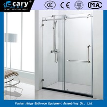 EC-9101 auto level high-density safety explosion-proof glass shower room/shower cabins/ shower enclosure