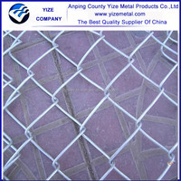 Anping YIZE best selling square mesh chain link fence ,Wholesale high safety used chain link fence for sale ( Gold Supplier )