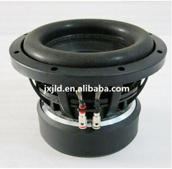 10inch best car powered subwoofer